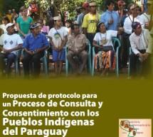 Propuesta de Protocolo para un proceso de consulta y consentimiento con pueblos indígenas