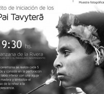 Muestra fotográfica sobre el rito de iniciación de los Pai Tavyterâ