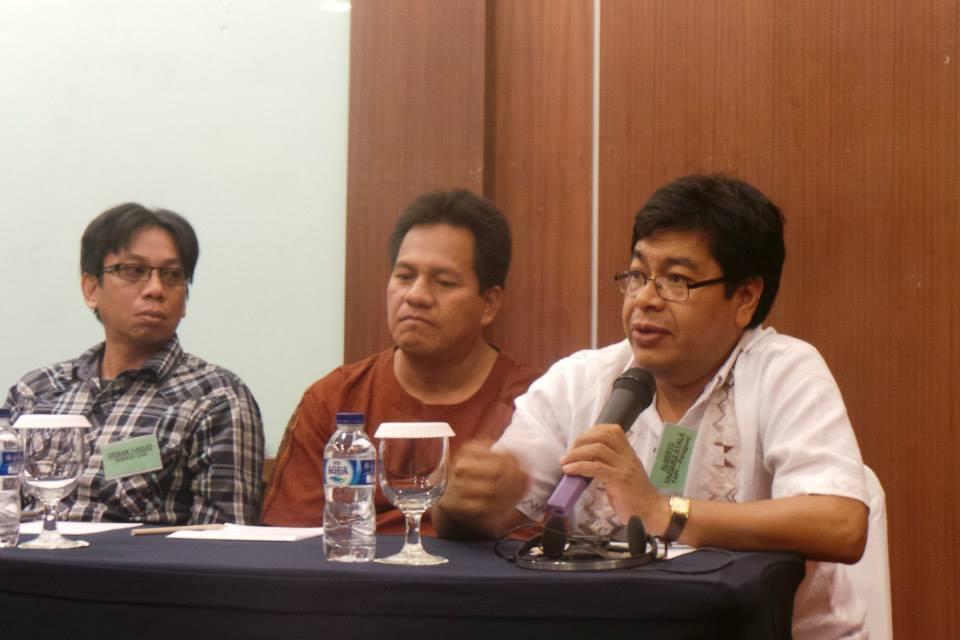 Alberto Vázquez, durante una intervención en el encuentro.