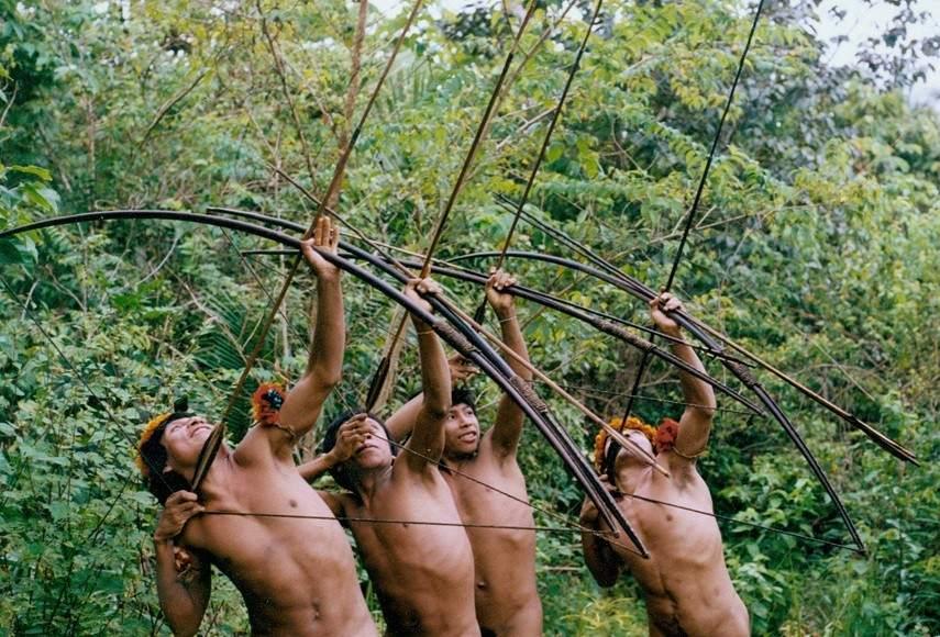 Los Awa, pueblo del Brasil del que solo quedan unos 450. Foto: 20 minutos.