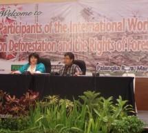 Casos de Pueblos Indígenas que luchan por recuperar sus territorios, como los Mby'a y los Ayoreos son presentados en taller internacional