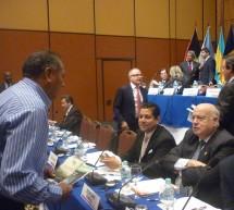 El secretario general de la OEA incluyó dos veces en su discurso una frase del documento elaborado por líderes indígenas