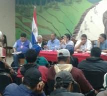La FAPI participa de reunión de planificación de acciones con líderes de comunidades indígenas del Departamento de Caazapá