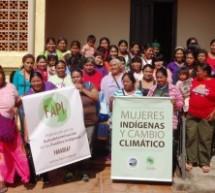 """Se realizó el Taller Nacional de miembros de la FAPI """"Mujeres Indígenas y Cambio Climático"""""""