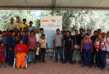 El taller Sistema de Alerta Temprana fue realizado por la FAPI con la OPIT en la comunidad Chaidí en el Alto Paraguay, Chaco