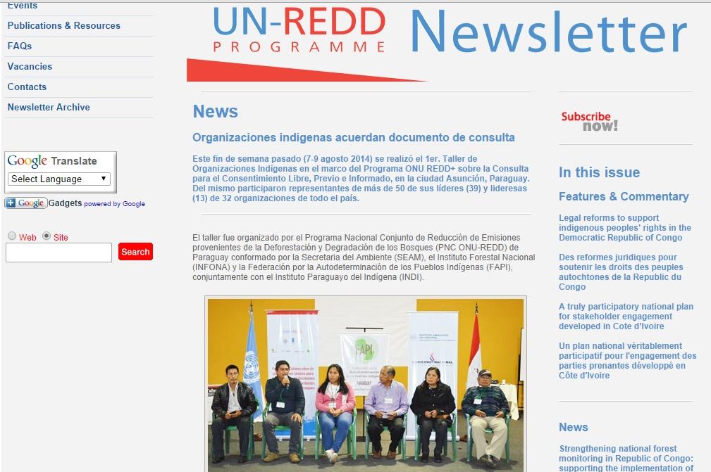 escaneo un-redd newsletter