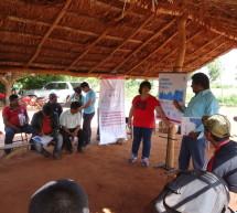 Con el apoyo de ONUREDD Paraguay se llevó a cabo un taller sobre Cambio Climático y Pueblos Indígenas en la comunidad Loma Tajy