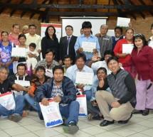 Comunicadores Indígenas culminan taller sobre cambio climático