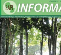 Nueva edición de la Revista FAPI Informa