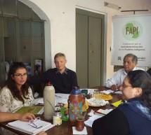 Equipo técnico de la FAPI se reúne con representantes de RFN