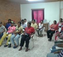 Líderes de organizaciones participan de talleres sobre Derechos colectivos, Primeros auxilios jurídicos y Cambio Climático