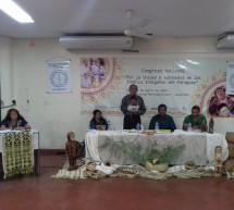 """Organizaciones indígenas de las dos regiones del país se reunieron bajo el lema """"Por la Unidad y Autonomía de los  Pueblos Indígenas del Paraguay"""""""