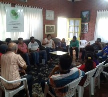 Comunicadores indígenas participan de taller sobre radio y el cuidado de los bosques