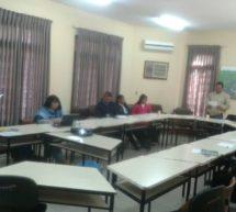 Integrantes del Consejo Nacional de Salud de los Pueblos Indígenas realizan últimas modificaciones a una propuesta de reglamentación