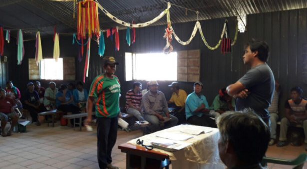 Miembros de la Organización Mismo Indígena se forman en derechos individuales y colectivos de los Pueblos Indígenas