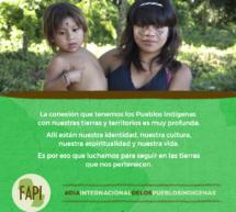 Día de los Pueblos Indígenas: Un Día para reivindicar derechos