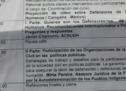 Representante de la FAPI ofrece disertación sobre Organizaciones de la Sociedad Civil en las Políticas Públicas