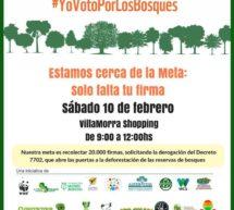 Organizaciones convocan a firmar por la  derogación del Decreto 7702, que permite la deforestación de las reservas de bosques