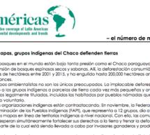 Revista EcoAméricas: «Con mapas, grupos indígenas del Chaco defienden tierras»