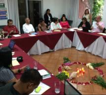 Representantes de organizaciones participan de un encuentro sobre gobernanza y resolución de conflictos en territorios indígenas