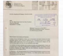 """Proyecto de Ley que """"Crea el ministerio de Desarrollo Social"""" no tuvo en cuenta derecho a la Consulta de los Pueblos Indígenas"""