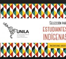 Universidad Federal de Integración Latino-Americana convoca a estudiantes indígenas a postular para carreras de grado