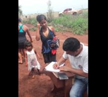 Miembros de Tekoha Sauce llevaron a cabo su asamblea de ratificación del líder de la comunidad, Cristóbal Martínez