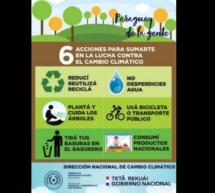 Seis consejos para sumarte a la lucha contra el Cambio Climático