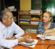 Presidente de la FAPI hizo entrega de resultados de proyecto interinstitucional a titular del Instituto Paraguayo del Indígena (INDI)