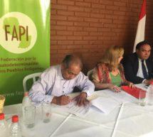 La FAPI firma Memorandum de Entendimiento con el INDI