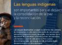 Las ONU declara Año Internacional de las Lenguas Indígenas 2019
