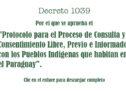 Para descargar: El protocolo para el Proceso de Consulta y Consentimiento con los Pueblos Indígenas aprobado por el Ejecutivo