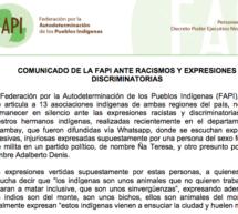 La FAPI emite un comunicado ante racismosy expresiones discriminatorias