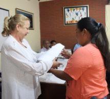 Dirigentes de la FAPI entregaron nota a la presidenta del INDI