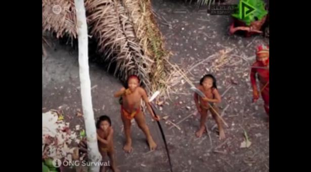 Una campaña para apoyar a los Pueblos Indígenas no contactados