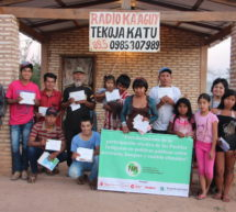 Comunicadores de la asociación indígena Alto Canindeyú participaron de encuentro formativo en producción radiofónica