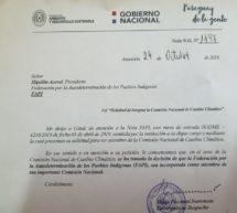 La FAPI integra desde hoy la Comisión Nacional de Cambio Climático