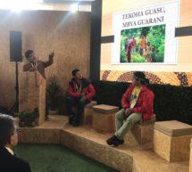 Presidente de la ACIDI expone sobre la experiencia de conservación del territorio Mbya Guaraní durante III Congreso de Áreas Protegidas