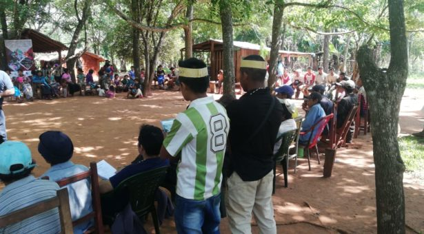 Líderes indígenas de Itapúa y Caazapá buscan fortalecer su rol como defensores del territorio a través de talleres de formación