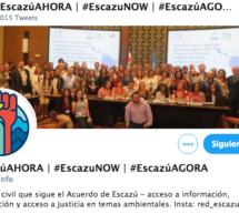 Unite a la Twitteracción #EscazúAhora